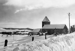 AUBRAC - L'Eglise Romane (M.H) Classée Du VI° S. Dernier Vestige Des Moines Chevaliers - Otros Municipios