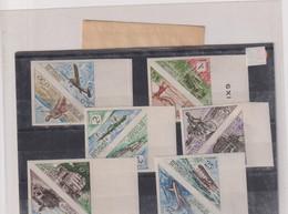 REPUBLIQUE DU CONGO-TRANSPORT -COURRIER-TP TAXE- Non Dentelés-N°34/45 XX - République Du Congo (1960-64)