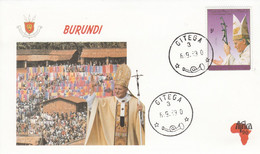 BURUNDI 1990 VOYAGE PAPE JEAN PAUL II - Unclassified
