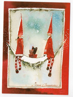 MODERN POSTCARD - UNICEF - FINLAND - CHRISTMAS - GNOMES -  USED 2012 - Unclassified