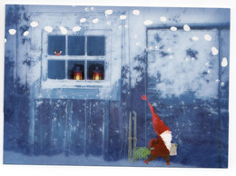 MODERN POSTCARD - UNICEF - FINLAND - CHRISTMAS - GNOME -  USED 2012 - Unclassified