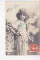 BONNE FÊTE, Petite Fille Et Tresses De Fleurs, Ed. M 1910 - Other