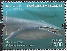 PORTUGAL Azores - EUROPA 2021 - Endangered National Wildlife Critical Meetings - Stamp - Other