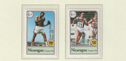 Nicaragua 1994 IOC Centenary Two Stamps MNH/** (H56) - Other