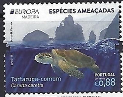 PORTUGAL Madeira - EUROPA 2021 - Endangered National Wildlife Critical Meetings - Stamp - Other