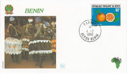 BENIN 1993 VISITE PAPE JEAN PAUL II - Benin - Dahomey (1960-...)