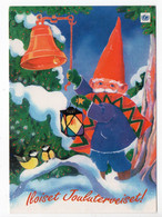 MODERN POSTCARD - UNICEF - FINLAND - CHRISTMAS - GNOME & BIRDS -  USED 2001 - Unclassified