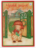 MODERN POSTCARD - UNICEF - FINLAND - CHRISTMAS - CHILD -  USED 1999 - Unclassified