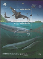 PORTUGAL Azores - EUROPA 2021 - Endangered National Wildlife Critical Meetings - Souvenir Sheet - Other