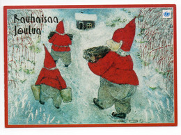 MODERN POSTCARD - UNICEF - FINLAND - CHRISTMAS - GNOMES - USED 1999 - Unclassified