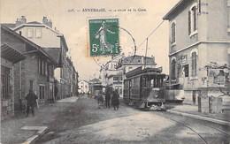 74 - ANNEMASSE : Avenue De La Gare ( Tramway En Bon 1er Plan ) CPA - Haute Savoie - Annemasse