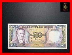 ECUADOR  500 Sucres  8.6.1988   P.  124 A    UNC - - Ecuador