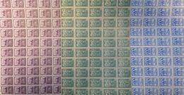 Espagne Bienfaisance YT N° 26/28 En Blocs De 50 Timbres Neufs ** MNH. TB. A Saisir! - Charity