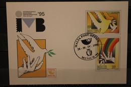 Malta Europa - CEPT 1995, Intern. Münchner Briefmarkentage '95, Ganzsache, SST München, Rar - 1995