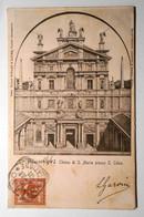LOMBARDIA MILANO CITTà CHIESA DI S.MARIA PRESSO S.CELSO Formato Piccolo Viaggiata Nel 1902 Condizioni Buone - Milano (Milan)