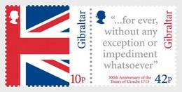 Gibraltar 2013 Set - 300th Ann Treaty Of Utrecht (Mint) - Gibraltar