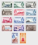Gibraltar 2013 Set - 60 Years 1st Stamp Definitive Of QE II 1953 (Mint) - Gibraltar