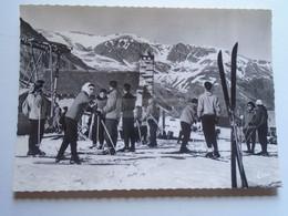 D179175  Andorra  -   PAS DE LA CASE PAS DE LA CASA SKIEURS AU DEPART DU TELESKI  Ca 1950 - Andorra
