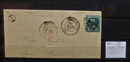 05 - 21 - France - Fragment N° 29  Oblitération GC 2964 Pontarlier - Jura + I - 1863-1870 Napoleon III With Laurels