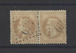 FRANCE. YT   N° 28  Oblitération    1867 - 1863-1870 Napoleon III With Laurels