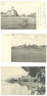 2 Cpa Palavas - Rive Droite ( Carte Double, Coupée En 2) / L'église ( S.5183 ) - Unclassified