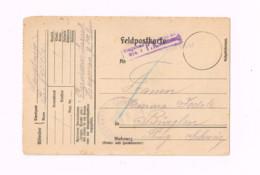 """Feldpostkarte.Expédié De Haguenau,Els.à Bürglen (Thurgovie/Suisse) """"Reserve Lazarett Haguenau"""" - Lettres & Documents"""