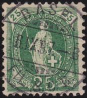 Suisse    .   Y&T     .   72    .    O   .     Oblitéré   .   /    .   Gebraucht - Used Stamps