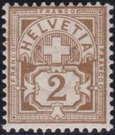 Suisse    .   Y&T     .   63    .   *   .     Neuf Avec Gomme   .   /    .   Ungebraucht Mit Gummi - Nuovi