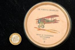 Ancienne Coupelle Sous-bock J-Magazine : Spad 14/18 GUYNEMER 54 Victoires 1917 - Autres