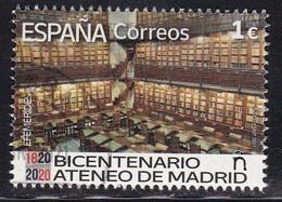 2021-ED. 5481 - Efemérides.- 2021. Bicentenario Del Ateneo De Madrid (1820-2020) - USADO - 2011-... Used
