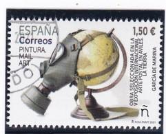2021-ED. 5479 - Pintura.- 2021. Mail Art.  V Exposición Internacional Arte Postal En Avilés. La Tierra - USADO - 2011-... Used