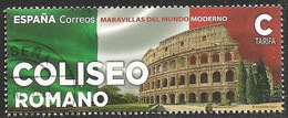 2021-ED. 5453 - Maravillas Del Mundo Moderno. Coliseo Romano  -USADO - 2011-... Used