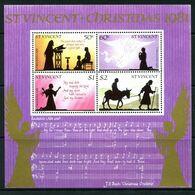 St Vincent 1981 Christmas MS MNH (SG MS685) - St.Vincent (1979-...)