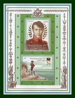 Bloc Napoléon 2021 ** MNH Dorure Gold France - Mint/Hinged