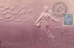La Semeuse Carte Gaufrée - 1960-69