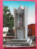 Visuel Très Peu Courant - Italie - Montalbano Jonico - Matera - Madonna Di Lourdes - Monumento - R/verso - Matera