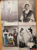 Lot De 267 Cpa Costumes Et Coutumes De France - 100 - 499 Postcards