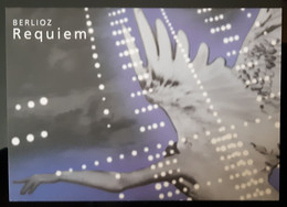 Berlioz Requiem Carte Postale - Reclame