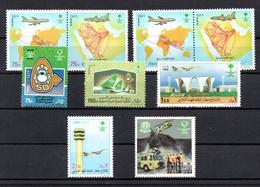 T1-5 Arabie Saoudite N° 838 à 841 + 982 + 983 + 1041 + 1042 + 1086  ** A Saisir !!! - Saudi Arabia