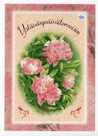 MODERN POSTCARD - UNICEF - POSTAL STATIONERY - FINLAND - FLOWERS - USED 2005 - Unclassified