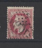 FRANCE. YT   N° 32  Oblitération   1867 - 1863-1870 Napoleon III With Laurels