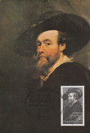 Carte Maximum  -  Anniversaire Rubens - Unclassified