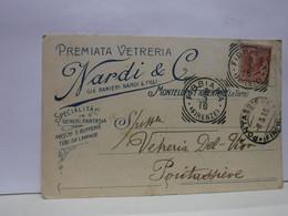 MONTELUPO   FIORENTINO  -- FIRENZE  --   NARDI  & C.   PREMIATA VETRERIA - Firenze (Florence)
