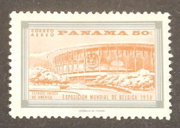PANAMA YT PA 194 NEUF(*)  PAVILLON DES USA ANNÉE 1958 - Panama