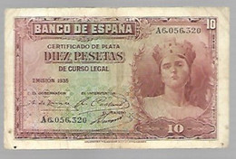 Espagne - 10 Pesetas