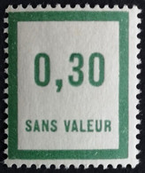 France Fictif N° F31 N** Luxe Gomme D'origine, TTB. Cote 2020 : 2,00 €. Voir Photos Recto Verso ! - Fictie