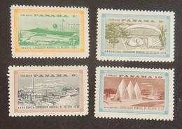 PANAMA YT 318/321 NEUFS**/*  EXPOSITION DE BRUXELLES ANNÉE 1958 - Panama