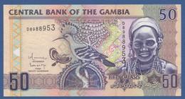 GAMBIA - P.28b – 50 Dalasis ND (2006-2013 & 2018) UNC - Gambia