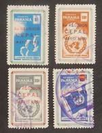 PANAMA YT PA 204/207 OBLITERE ANNÉE 1959 - Panama