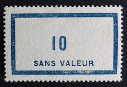 France Fictif N° F45 N** Luxe Gomme D'origine, TTB. Cote 2020 : 4,00 €. Voir Photos Recto Verso ! - Fictie